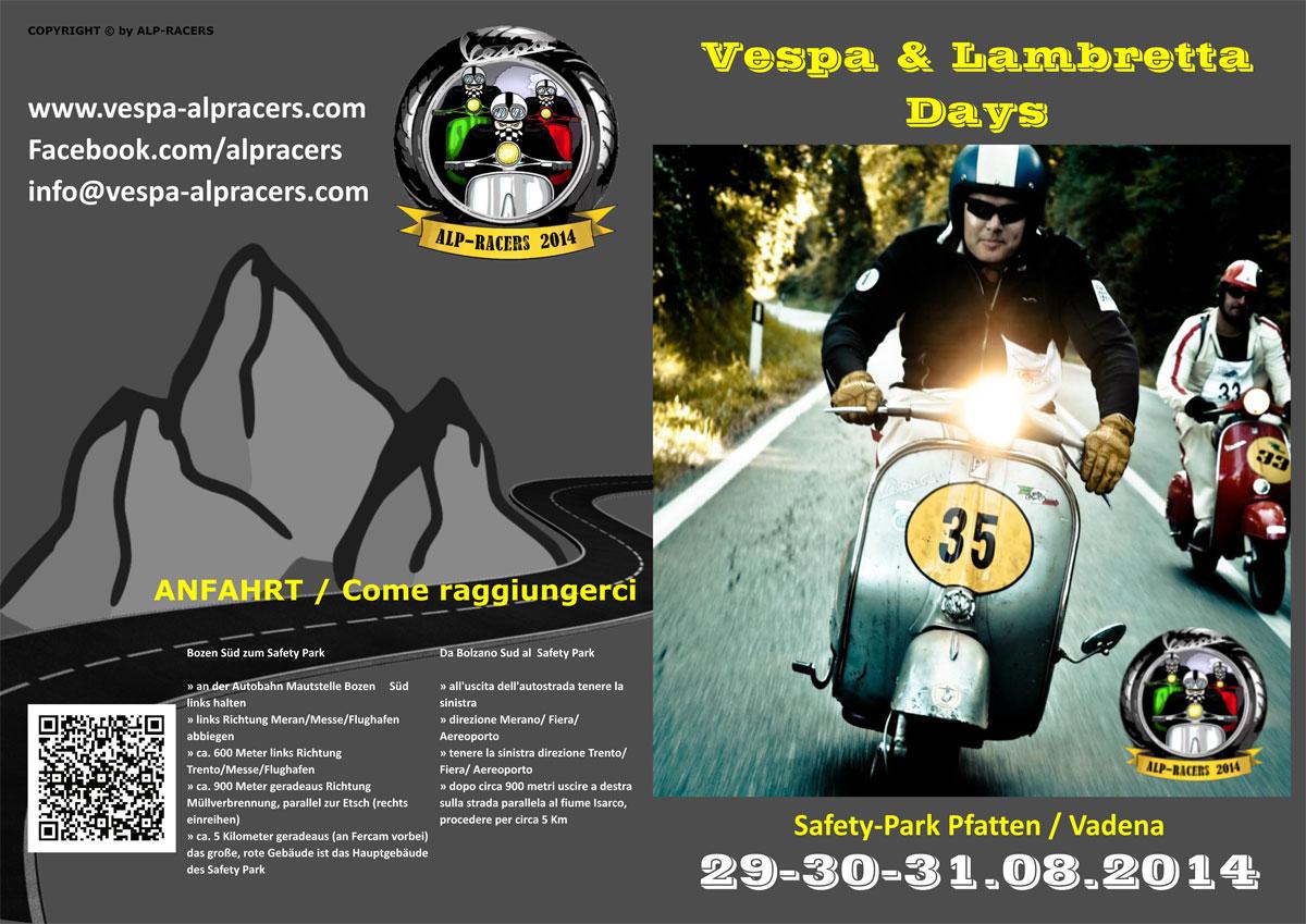 Vespa Alpracers 2014