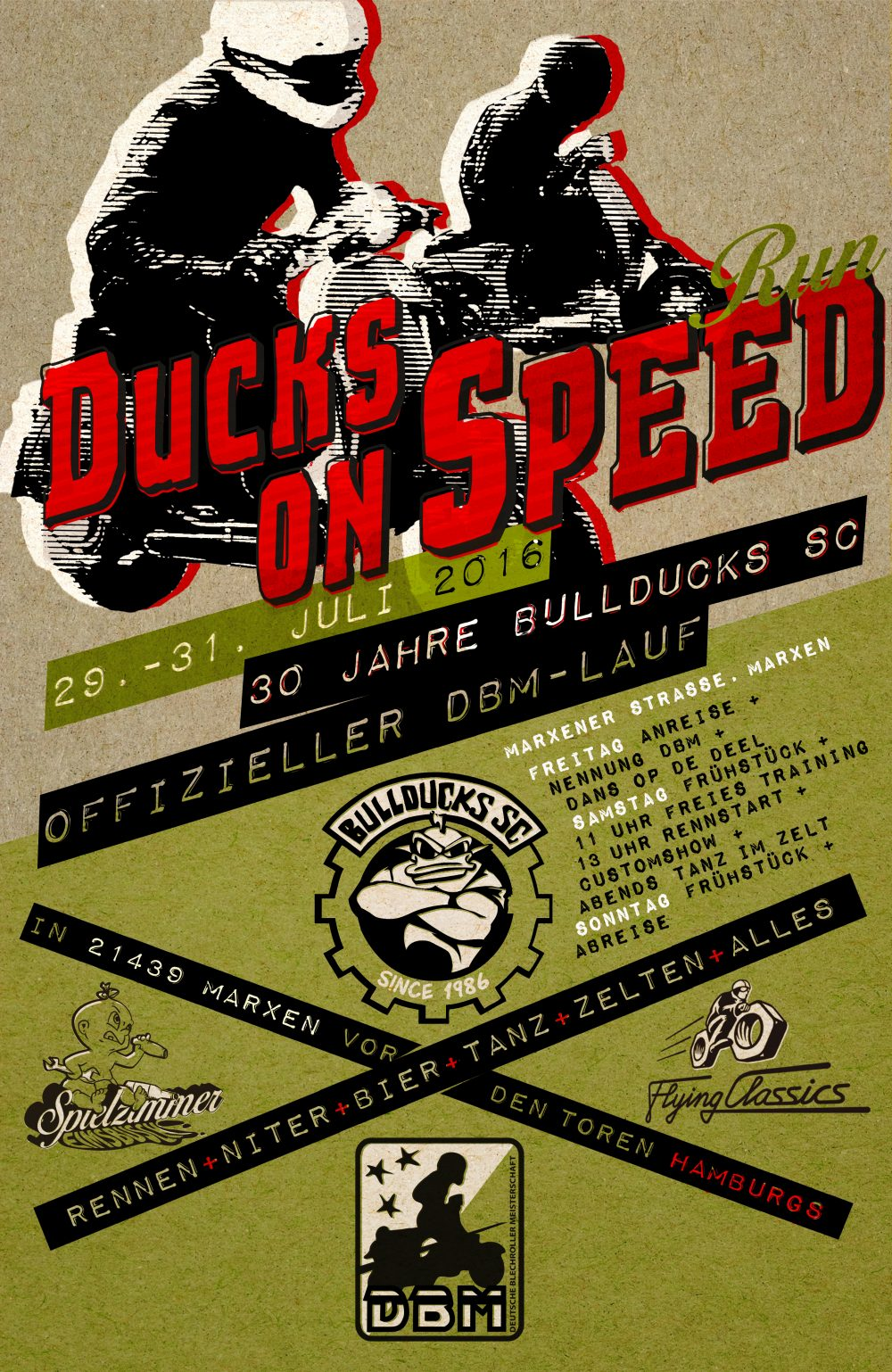 DUCKS ON SPEED 2016