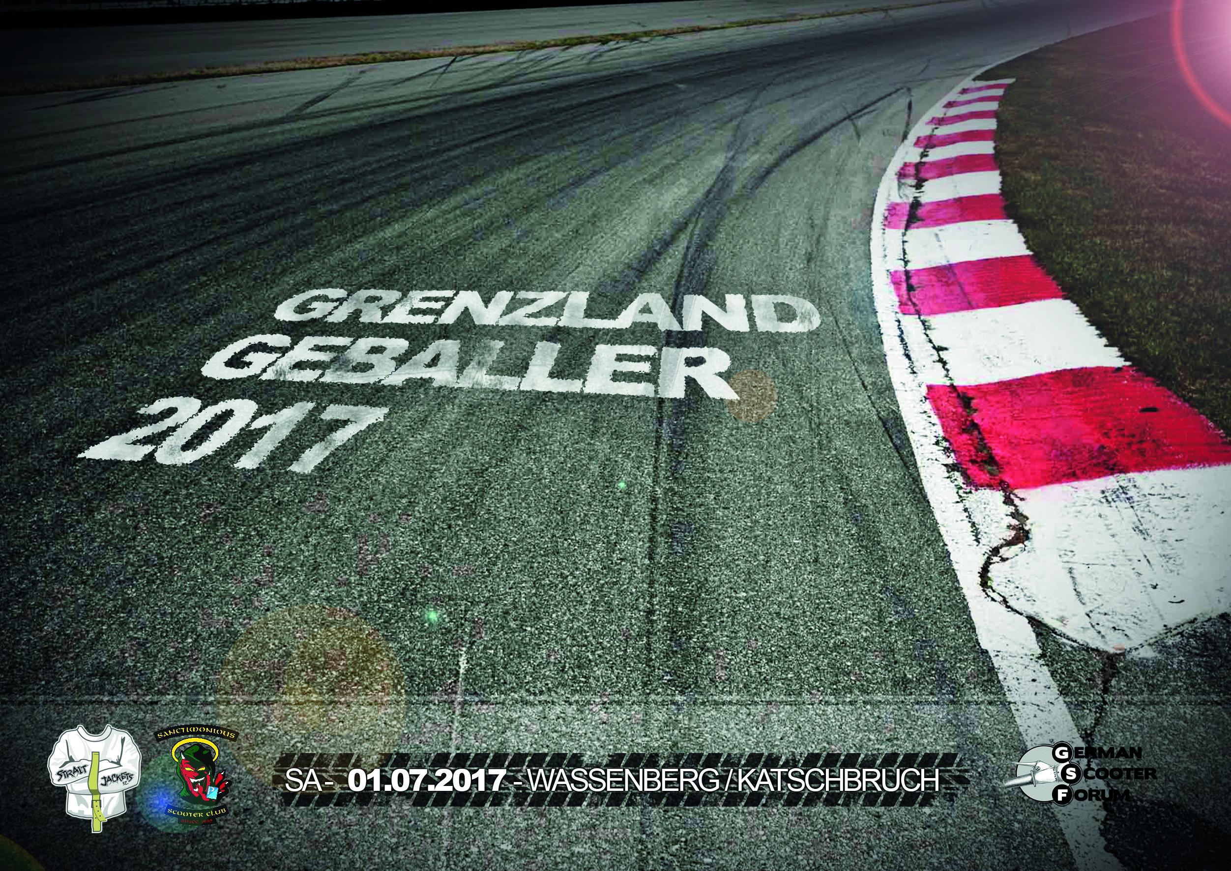 Flyer Grenzland Geballer 2017