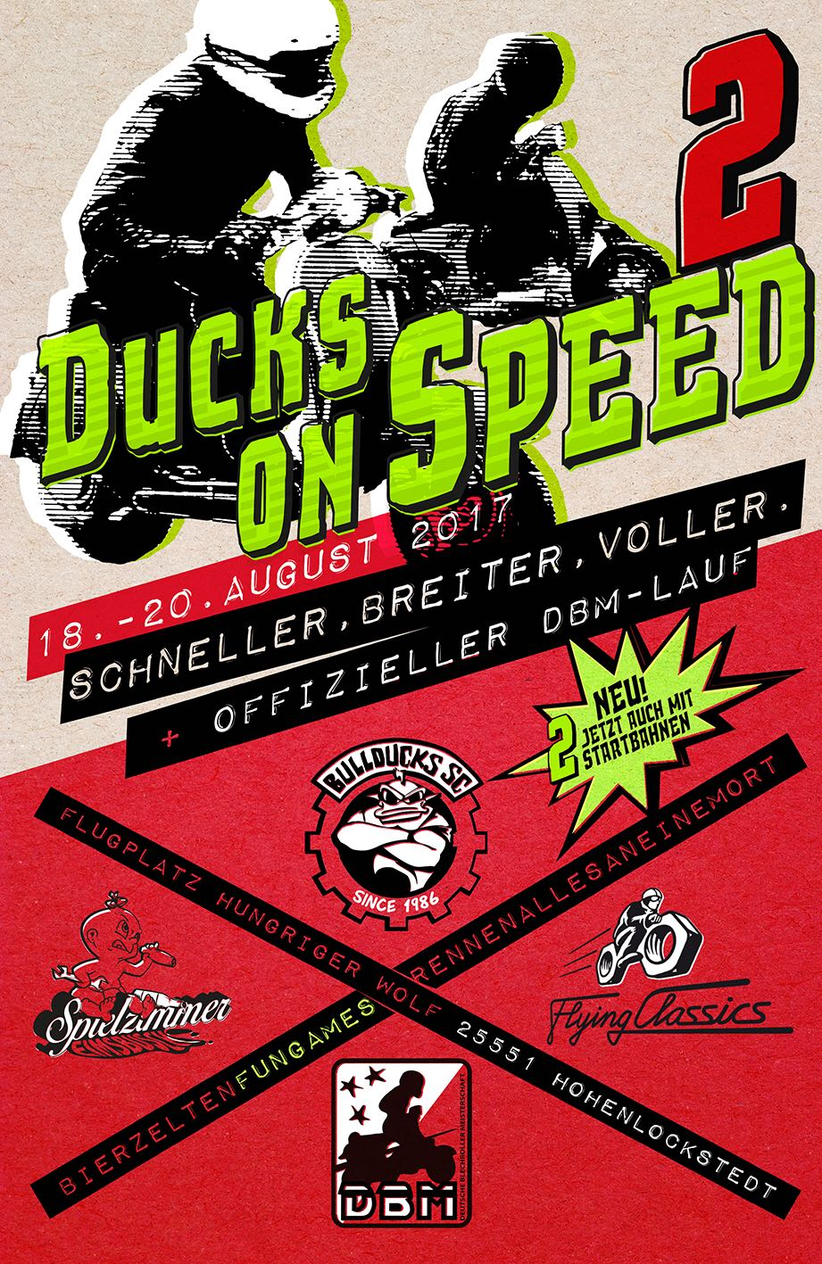 Flyer Ducks on Speed 2